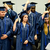 Graduates stand to turn their tassles during the commencement ceremony at the Sizer School on Thursday evening. SENTINEL & ENTERPRISE / Ashley Green