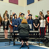 "The Sizer Singers perform ""We're all in this together"" during the commencement ceremony at the Sizer School on Thursday evening. SENTINEL & ENTERPRISE / Ashley Green"