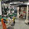 The new Sizer School, A North Central Charter Essential School at 500 Rindge Rd in Fitchburg is finished and waiting for student to arrive next Friday for the first day of school. The new boiler room at the school. SENTINEL & ENTERPRISE/JOHN LOVE