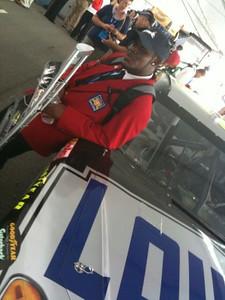 Makin the race car look good
