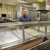 "Leominster Facilties Director Anthony ""Tony"" Sciabarrasi shows off the kitchen at Sky View in anticipation of a new state regulation dictating all organic materials be recycled. SENTINEL & ENTERPRISE/JOHN LOVE"