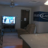 Living toom - check out that big 50 inch tv!