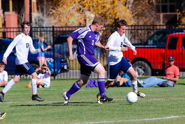 State soccer Finals CB (1) vs. Salida (2) at Gateway Field, Gunnison, Colo. on Saturday, Oct. 25, 2014. (Photo/Nathan Bilow)