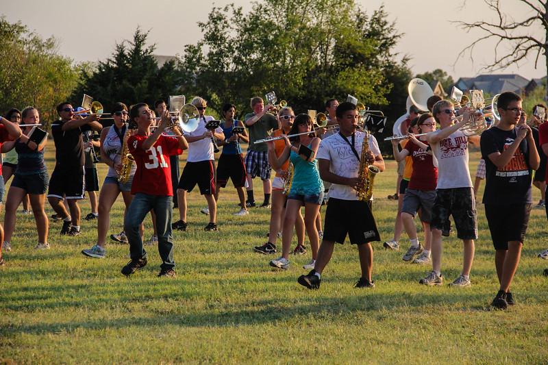 Rose Hill Rockets Band<br /> Rose Hill Rocket Band Camp at Camp Haiwatha