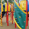The City of Leominster held a ribbon cutting for the new playground on Vicoloid Avenue next to the Southeast Elementary School on Wednesday afternoon.  Here is a view of just part of the new playground. SENTINEL & ENTERPRISE/JOHN LOVE
