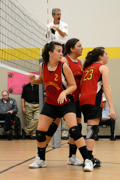 Volleyball v Spirit of Life 2013-10-14