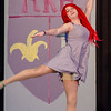 St. Leo's students Haylee Deforte as Ariel rehearses The Little Mermaid at the school in Leominster on Wednesday afternoon. Two showings of the musical will be held this weekend, on both Friday and Saturday at 7 pm. SENTINEL & ENTERPRISE / Ashley Green