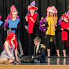 St. Leo's students during a dress rehearsal for The Little Mermaid at the school in Leominster on Wednesday afternoon. Two showings of the musical will be held this weekend, on both Friday and Saturday at 7 pm. SENTINEL & ENTERPRISE / Ashley Green