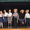 """4th through 8th grade students from St. Leo's School in Leominster rehearse for their upcoming musical, """"State Fair"""" which will be put on Friday, May 16 and Saturday, May 17. SENTINEL & ENTERPRISE / Ashley Green"""
