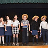 "4th through 8th grade students from St. Leo's School in Leominster rehearse for their upcoming musical, ""State Fair"" which will be put on Friday, May 16 and Saturday, May 17. SENTINEL & ENTERPRISE / Ashley Green"