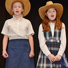 "(L-R) Sydney Lussier and Alyssa Harris, students from St. Leo's School in Leominster, rehearse for their upcoming musical, ""State Fair"" which will be put on Friday, May 16 and Saturday, May 17. SENTINEL & ENTERPRISE / Ashley Green"