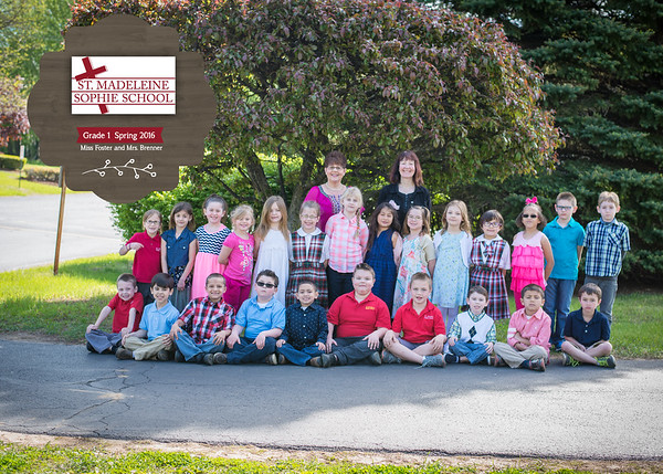 Spring 2016 Class Photo Proofs