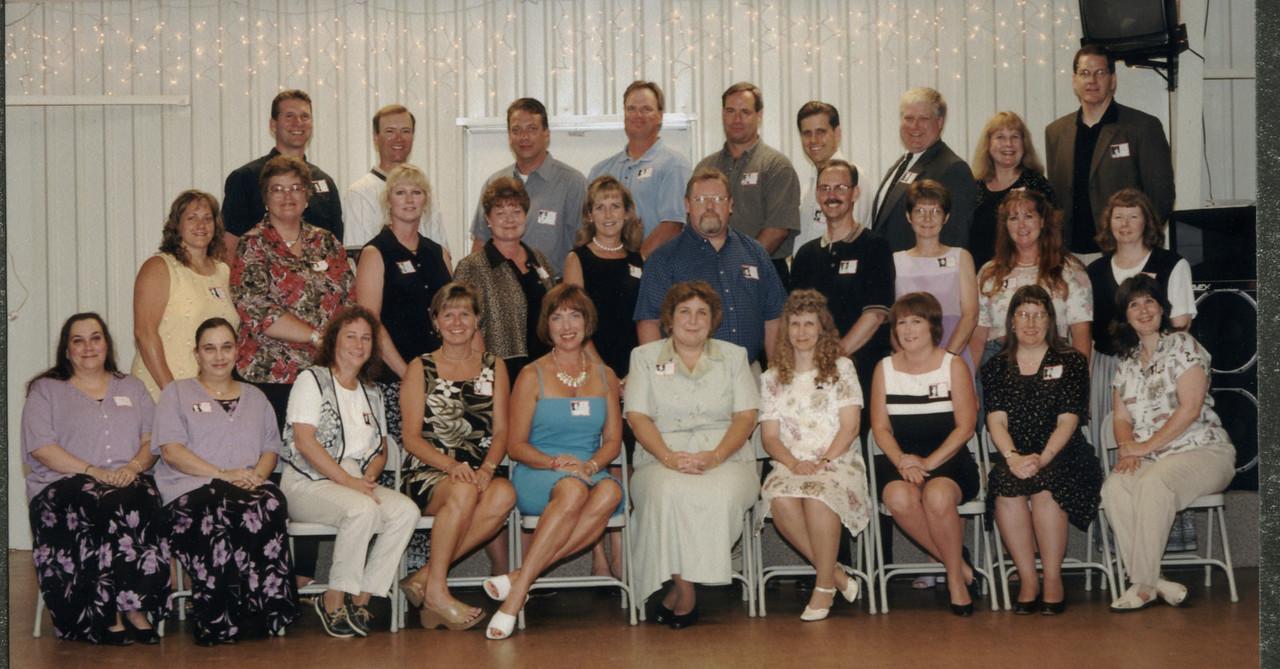 Class of 1976.  25 Year Class Reunion.