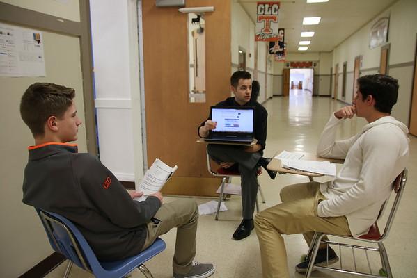 Students Practice Spanish Conversation Skills