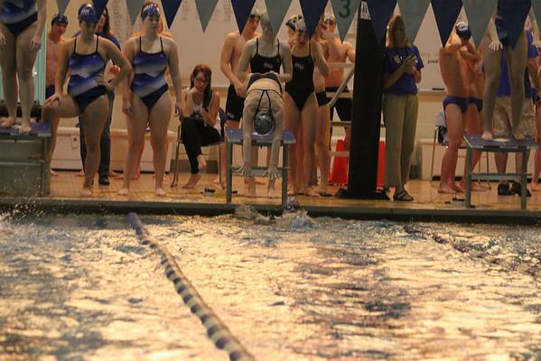 2013 MNHS Swim vs Prep Marian