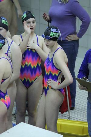 2014 MNHS Swim Dual at MS