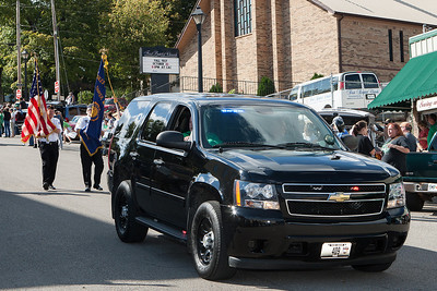 Thayer Police Dept  Leading the 2013 THS Homecoming Parade