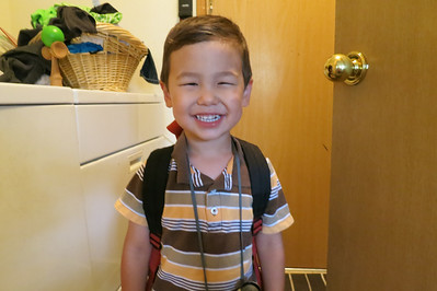 Tai's first day of school 2013