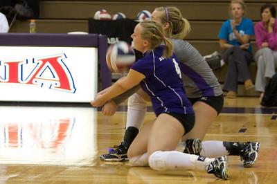 TU Vs. Bluffton Ladies Volleyball 08