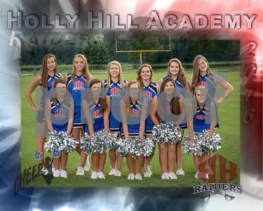 HHA Varsity Cheerleaders 2016