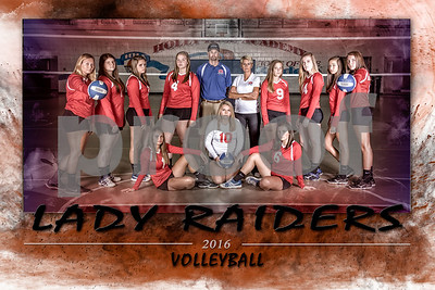 HHA Varsity Volleyball 2016