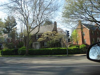 Random houses on the way to American University
