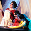 "Don Knight | The Herald Bulletin<br /> Anderson University's production of ""The Complete Works of William Shakespeare (Abridged)."""