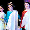 "Don Knight | The Herald Bulletin<br /> From left, Pia Desideria, Cassi Russell and Katie Judge perform a condensed version of  ""Julius Caesar"" in Anderson University's production of ""The Complete Works of William Shakespeare (Abridged)."""