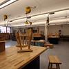 Robotics room at the new Billerica Memorial High School. (SUN/Julia Malakie)