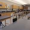 Tour of the new Billerica Memorial High School. 8th grade science classroom. (SUN/Julia Malakie)