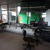 Tour of the new Billerica Memorial High School. TV production studio includes a green screen. (SUN/Julia Malakie)