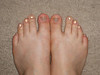What color is the new black....<br /> <br /> SPARKLES!!!<br /> Sparkle Toes!