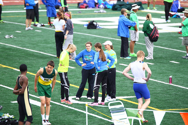 MNHS Track District Meet 2014