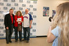 Robin and Ken Dean of Hudson Oaks are photographed with Jim Sundberg by TCA  student Avery Earl.