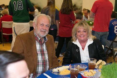 Willow Park Mayor Richard Neverdousky and wife Cindi.