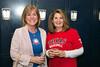 Carol Roewe and Saundra Lanier at the VIP Meet and Greet.