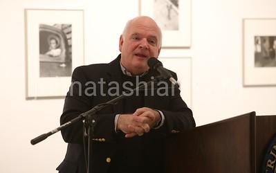 Speaker in the Austin Arts Center - March 6, 2014 - Photo by John Atashian