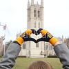 Heart Shaped Hands on Campus