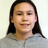 Tyngsboro Knowledge Bowl team. Evianna Young, 12, 7th grade.  (SUN/Julia Malakie)