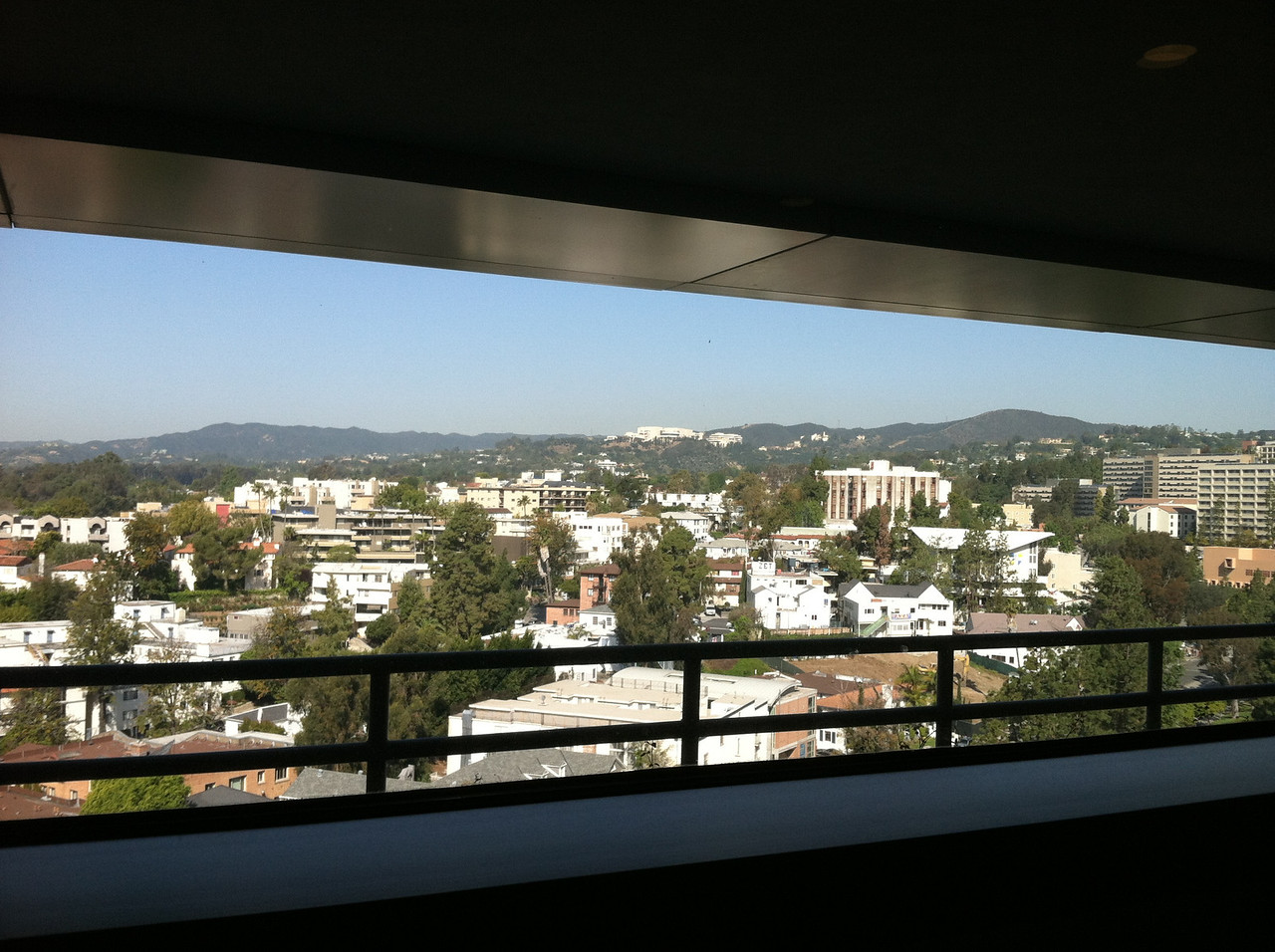 View from the Ronald Reagan Hospital
