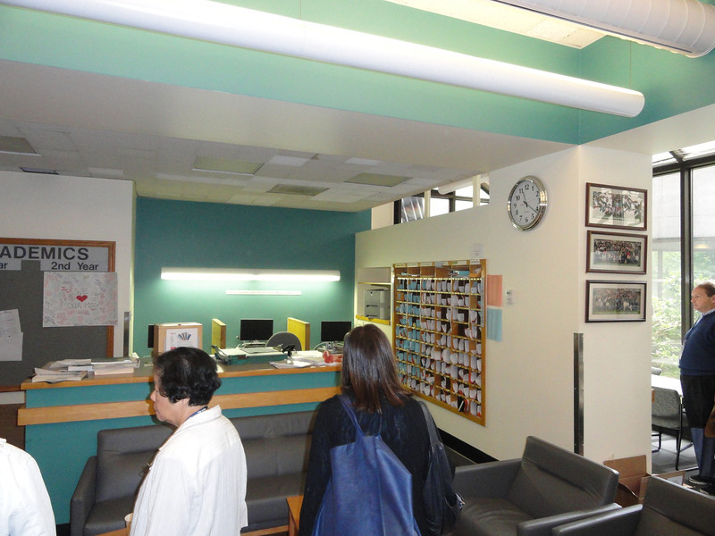 Student lounge/mailboxes