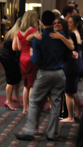 Ryan Burke and Kellie Geoffroy burn up the dance floor.
