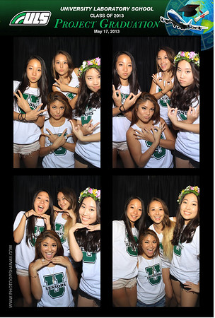 ULS Project Grad 2013 (Stand Up Photo Booth)