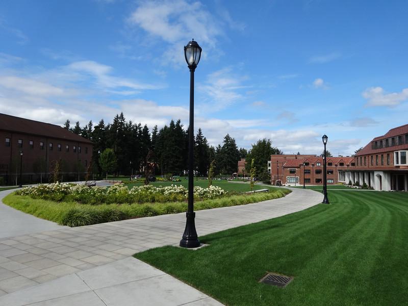 Walk to sports complex