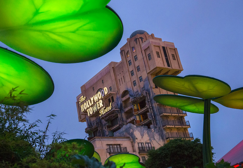 TOWER OF TERROR (ANAHEIM, Calif.) � Guests looking to get into the Halloween spirit at Disney California Adventure park can �drop in� for a ghostly experience on The Twilight Zone Tower of Terror�. The Diamond Celebration continues as guests celebrate Halloween Time at the Disneyland Resort, from Sept. 11 through Nov. 1, 2015, with dazzling entertainment and decor, in addition to the return of Haunted Mansion Holiday and Space Mountain Ghost Galaxy. This year, the family-friendly Mickey�s Halloween Party expands to 17 nights throughout the season at Disneyland park, where guests are invited to trick-or-treat in costume, celebrate with favorite Disney characters and enjoy special presentations of the �Halloween Screams� fireworks spectacular and the all-new �Paint the Night� parade. (Paul Hiffmeyer/Disneyland Resort)