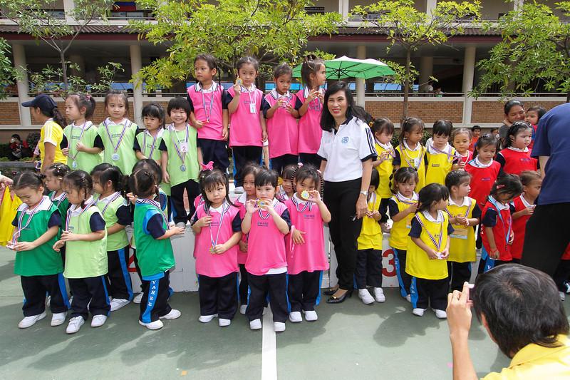 Varee Chiangmai School Annuban & Junior Sports Day 2012