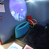 "Students and teachers at Valley Collaborative's middle and high school, and adult over-22 program. ""Blue Room"" with calming things to do.  (SUN/Julia Malakie)"