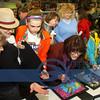 Bobbi Brown, Mollie Breeden, Sierra Jones, Susie Socha, Nancy Breeden, Willow Socha in teal and yellow jacket.