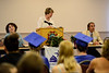 Several graduates participated in the Vermont Adult Learning graduation ceremony on Thursday, July 14, 2016. Kristopher Radder / Reformer Staff