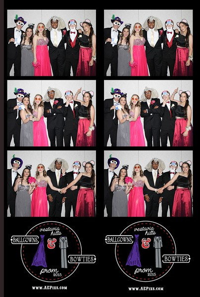 Vestavia Hills High School Prom 2015